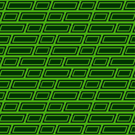 Seamless pattern background. illustration of a green color pattern with a confusing grid style.