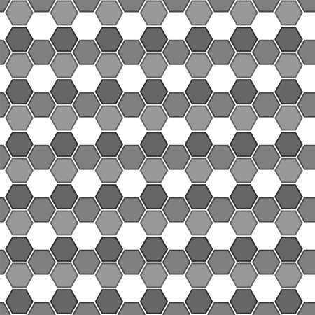 Seamless abstract pattern background. Polygon pattern design with white gray color.