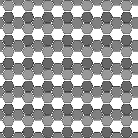 Seamless abstract pattern of polygon Illusztráció