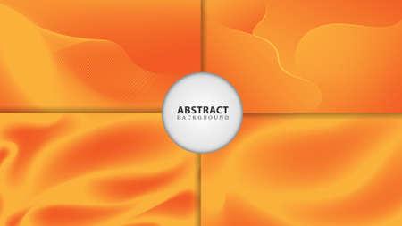 abstract gradient flow color background, Illusztráció