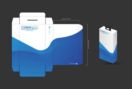 Business folders for documents, Layout designs for storing files, presentations, information, company reports, etc.