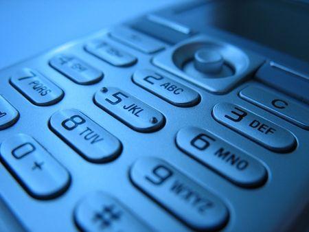 teclado num�rico: Tel�fonos M�viles almohadillas 4