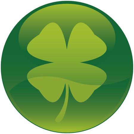 Shamrock pictogram Stockfoto - 2689156