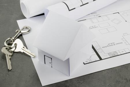 architect and builder Фото со стока