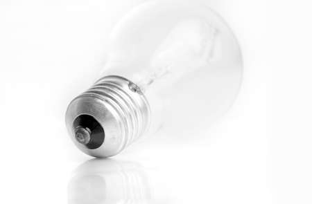 tungsten: Tungsten bulb fuse isoated on white