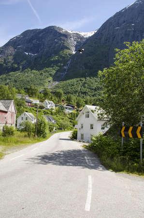 Village in Norway-Europe travel destination photo