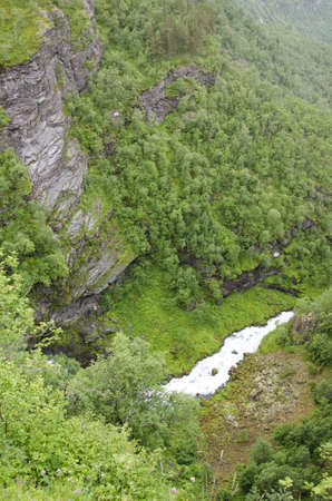 Norway- Geiranger Fjord-On top of mountains-Europe travel destination photo