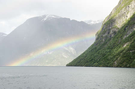 Norway- Hellesylt - Geiranger Fjords- View - Europe Travel Destination photo