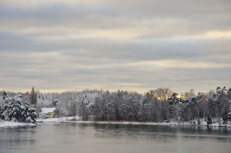 Finland - Mariehamn - Winter landscape photo