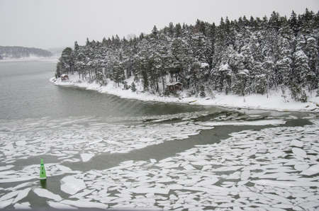 Finland - Nature in winter - Nasty weather - Landscape - Northern Europe photo