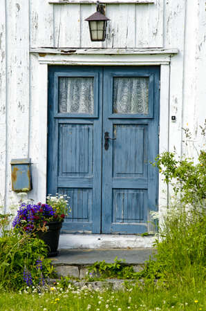 Residential - Old wooden front door - Entrance - Dreams photo