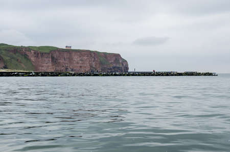 Germany - The coast of Helgoland - An oasis of tranquility and a unique natural monument photo