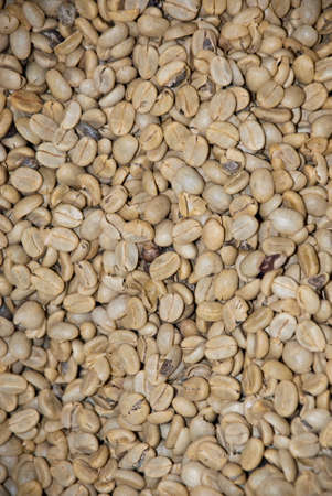 un healthy: Coffee - Green Coffee Beans - Nutrient Value And Antioxidant Content - Health Benefits - Backgrounds And Textures