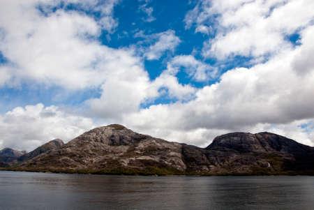 sarmiento: South America - Patagonia - Chilean Fjords Through Sarmiento Channel - Canal Sarmiento Is Located In Region of Magallanes and Chilean Antarctica