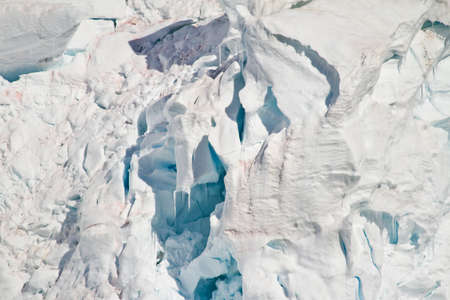 calving: Antarctica - Shapes And Textures Of Snow - Global Warming