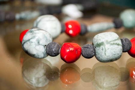 semiprecious: Gemstone Jewelry - Various Pieces Of Jade Beads