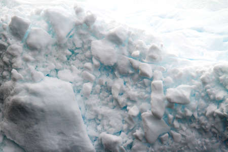 calving: Antarctica - Shapes And Textures Of Icebergs - Extremely Closeup