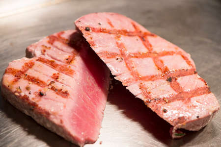 ahi: Fish - Grilled Yellowfin Tuna Steaks