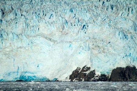 sarmiento: Chile - Amalia Glacier On The Edge Of The Sarmiento Channel - Skua Glacier