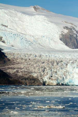 sarmiento: Chile - Amalia Glacier On The Edge Of The Sarmiento Channel - Skua Glacier - Bernardo O\\\\