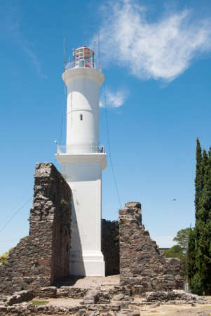 17th century: Uruguay - Lighthouse And Convent Ruins Of The 17Th Century - Convent Of San Francisco - Colonia Del Sacramento - World Heritage Site By UNESCO Editorial