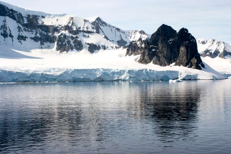 palmer: Antarctica - Coastline of Antarctica With Ice Formations - Antarctic Peninsula - Palmer Archipelago - Neumayer Channel - Global Warming