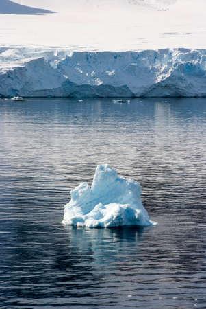 Antarctica - Coastline of Antarctica With Ice Formations - Antarctic Peninsula - Palmer Archipelago - Neumayer Channel - Global Warming