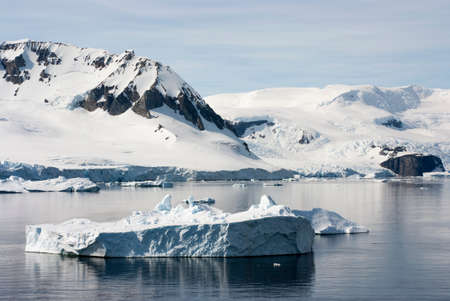 Antarctica - Coastline of Antarctica With Ice Formations - Antarctic Peninsula - Palmer Archipelago - Neumayer Channel - Global Warming