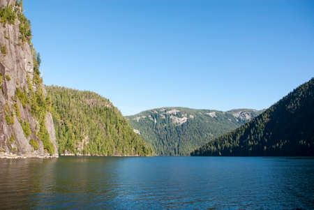 administered: Misty Fiords National Monument (or Misty Fjords National Monument) is a national monument and wilderness area administered by the U.S. Forest Service as part of the Tongass National Forest.