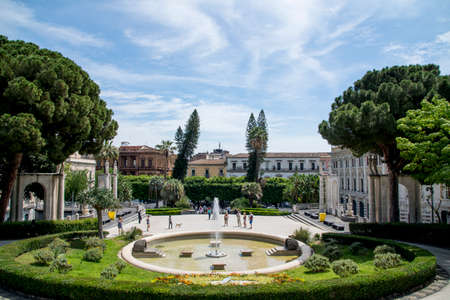 Italy Sicily Catania - Villa Bellini - May 25 2017
