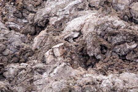 Lava rocks close up - Volcano slope of Etna, Sicily, Italy - May 25th 2017 Stock Photo