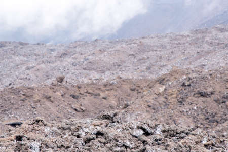 Volcanic Rock, Side crater Monti Calcarazzi, Mount Etna, Sicily, Italy - May 25th 2017