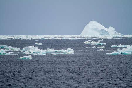 Antarctica - Palmer Archipelago - Floating Ice - Global Warming