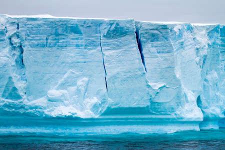 Antarctica - Antarctic Peninsula - Palmer Archipelago - Neumayer Channel - Global warming - Fairytale landscape - Tabular Iceberg in Bransfield Strait