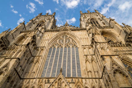 The Cathedral and Metropolitical Church of Saint Peter in York, commonly known as York Minster, is the cathedral of York, England, and is one of the largest of its kind in Northern Europe. Photo taken August 3 2018