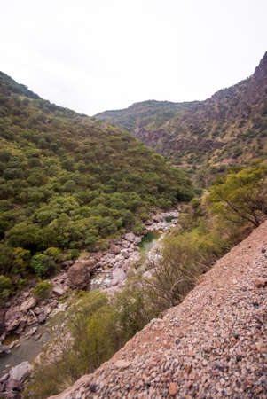 The Copper Canyon in Sierra Madre, Chihuahua State, Mexico, South America 스톡 콘텐츠