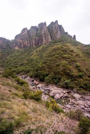 The Copper Canyon in Sierra Madre, Chihuahua State, Mexico, South America Stock fotó