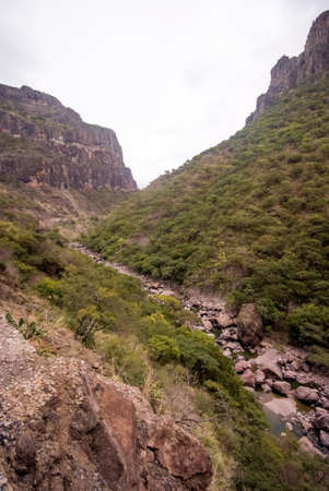 The Copper Canyon in Sierra Madre, Chihuahua State, Mexico, South America