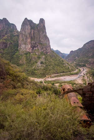 The Copper Canyon in Sierra Madre, Chihuahua State, Mexico, South America 免版税图像