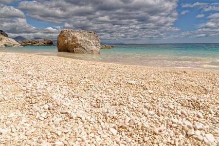 Cala Mariolu famous beach.