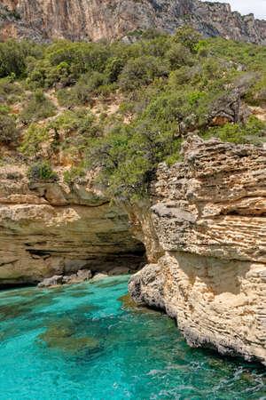 Su Achileddu Beach - Spiaggia di Su Achileddu - Sardinia Italy. Located on the beautiful coast of Baunei - east of Sardinia. Photro taken on 20th of May 2019