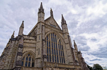 Winchester Cathedral, Winchester, Hampshire, England, United Kingdom, Europe. Photo taken on 6th of May 2019