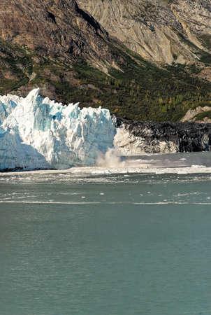 USA - Alaska - Margerie Glacier - Glacier Bay National Park and Preserve - Travel Destination. Alaska Glacier National Park Stock Photo