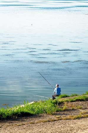 Fishing on Dorobantu Lake in Calarasi, Romania - 28th of June 2011 Editorial