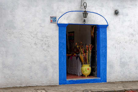 Typical Colonial Window In Antigua - Guatemala - 24th of March 2011