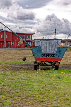 Old fishing boat in Astoria, Oregon USA. 16th of September 2013 Editorial
