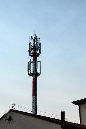 unsightly: Telecommunications tower