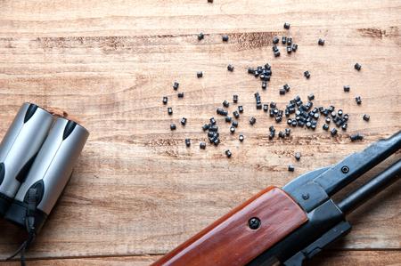 pellet gun: Air gun