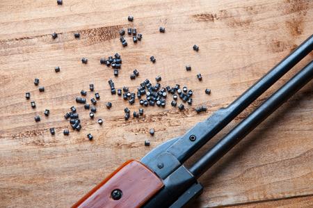 pellet: airgun and pellet