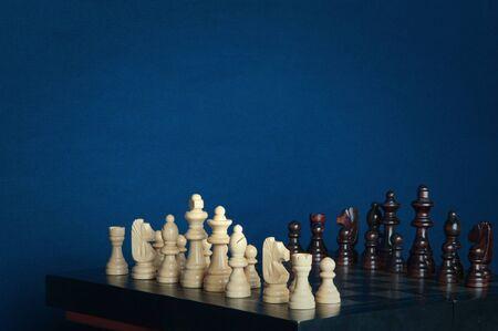 チェス盤。 写真素材